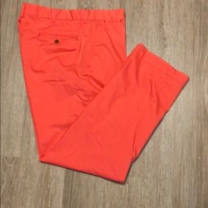Salmon colored Ralph Lauren Golf Pants